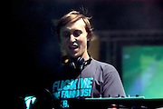 David Guetta performing at the Carlsberg party in Madrid  2005