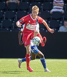 Andreas Smed (FC Helsingør) under træningskampen mellem FC Helsingør og HIK den 1. august 2020 på Helsingør Ny Stadion (Foto: Claus Birch).