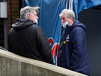 Football - 2020 /2021 Premier League - Crystal Palace vs West Bromwich Albion - Selhurst Park<br /> <br /> <br /> West Bromwich Albion Manager Sam Allardyce and Crystal Palace manager Roy Hodgson talk to each other before the start of the match