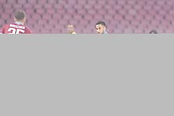 February 21, 2019 - Napoli, Napoli, Italia - Foto Cafaro/LaPresse.21 Febbraio 2019 Napoli, Italia.sport.calcio.SSC Napoli vs FC Zurich - UEFA Europa League stagione 2018/19, Sedicesimi di finale, ritorno - stadio San Paolo..Nella foto: Adam Ounas (SSC Napoli) realizza la rete del 2-0...Photo Cafaro/LaPresse.February 21, 2019 Naples, Italy.sport.soccer.SSC Napoli vs FC Zurich - UEFA Europa League 2018/19 season, Round of 32, Second leg - San Paolo stadium..In the pic: Adam Ounas (SSC Napoli) scores the 2-0 goal. (Credit Image: © Cafaro/Lapresse via ZUMA Press)