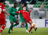 RAZGRAD, BULGARIA - OCTOBER 22:  during the UEFA Europa League Group J stage match between PFC Ludogorets Razgrad and Royal Antwerp at Ludogorets Arena on October 22, 2020 in Razgrad, Bulgaria. (Photo by Nikola Krstic/MB Media)