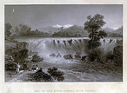 Fall of the River Cydnus (Berdan), Near Tarsus, Turkey  From Syria, the Holy Land, Asia Minor, etc. : by  Carne, John, 1789-1844; Bartlett, W. H. (William Henry), 1809-1854; Purser, William Publisher: London, Fisher [1839-40]