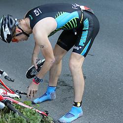 Glücksburg, 02.08.15, Sport, Triathlon, 14. OstseeMan, 2015 : Stefan Fuchs (GER, Lg eXa Leipzig, #74)<br /> <br /> Foto © P-I-X.org *** Foto ist honorarpflichtig! *** Auf Anfrage in hoeherer Qualitaet/Aufloesung. Belegexemplar erbeten. Veroeffentlichung ausschliesslich fuer journalistisch-publizistische Zwecke. For editorial use only.