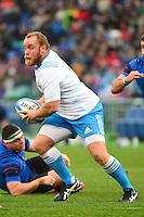 Dario CHISTOLINI - 15.03.2015 - Rugby - Italie / France - Tournoi des VI Nations -Rome<br /> Photo : David Winter / Icon Sport