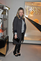 MARISSA HERMER at the unveiling of the Helena Christensen and Swarovski Crystallized Unsigned Model search winners held at Swarovski Crystallized, 24 Great Marlborough Street, London on 26th January 2012.