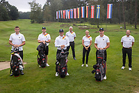HILVERSUM -  TEAM GERMANY / DUITSLAND . ELTK Golf  2020 The Dutch Golf Federation (NGF), The European Golf Federation (EGA) and the Hilversumsche Golf Club will organize Team European Championships for men.  COPYRIGHT KOEN SUYK