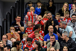 Bristol Flyers fans - Mandatory byline: Dougie Allward/JMP - 11/12/2015 - Basketball - SGS Wise Campus - Bristol, England - Bristol Flyers v Plymouth Raiders - British Basketball League