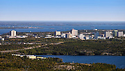 Yellowknife, NT Aerial.2009.