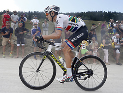 July 17, 2018 - Le Grand Bornand, France - LE GRAND-BORNAND, FRANCE - JULY 17 : IMPEY Daryl of Mitchelton-Scott  during stage 10 of the 105th edition of the 2018 Tour de France cycling race, a stage of 158.5 kms between Annecy and Le Grand-Bornand on July 17, 2018 in Le Grand-Bornand, France, 17/07/2018 (Credit Image: © Panoramic via ZUMA Press)
