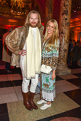 Henry Conway and Charlotte Hudson at the Mary Quant VIP Preview at The Victoria & Albert Museum, London, England. 03 April 2019. <br /> <br /> ***For fees please contact us prior to publication***