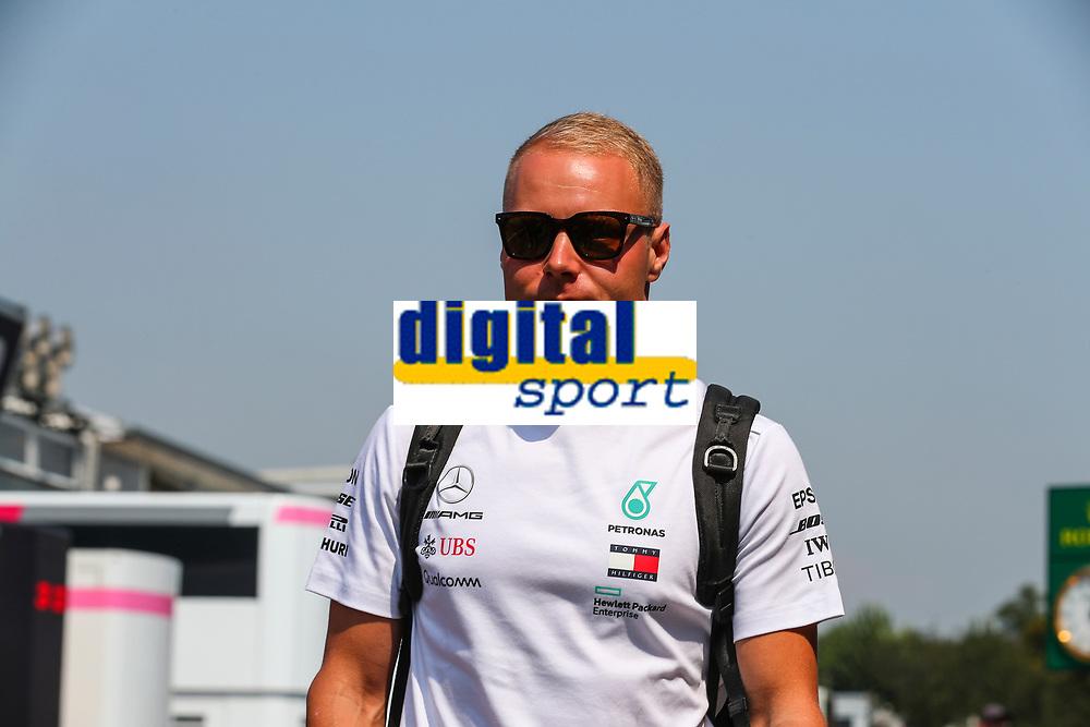 Valtteri Bottas AMG Mercedes<br /> Monza 30-08-2018 GP Italia <br /> Formula 1 Championship 2018 <br /> Foto Federico Basile / Insidefoto