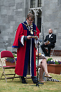08/07/2018  repro  free:   Mayor of Galway Cllr. Niall McNelis   at The National Day of Commemoration Ceremony at NUI Galway in honour of all those Irishmenand Irish Women whooped in pastors or on Service with the UN.Photo:Andrew Downes, XPOSURE