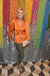 Anthea Turner at a cocktail supper hosted by BOTTLETOP co-founders Cameron Saul & Oliver Wayman, along with Arizona Muse, Richard Curtis & Livia Firth to launch the #TOGETHERBAND campaign at The Quadrant Arcade on April 24, 2019 in London, England.<br /> <br /> ***For fees please contact us prior to publication***