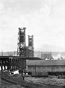 1608. Steel Bridge from its eastern end. November 1, 1934.
