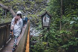 THEMENBILD - ein Materl am Rand des Klammwegs in der Kitzlochklamm. Das einzigartige Naturschauspiel mit hoch aufragenden zerklüfteten Felswänden ist ein beliebtes Ausflugsziel im Pinzgau, aufgenommen am 26. Juli 2020 in Taxenbach, Oesterreich // a material at the edge of the gorge in the Kitzlochklamm. This unique natural spectacle with towering rugged rock faces is a popular destination for excursions in the Pinzgau, in Taxenbach, Austria on 2020/07/26. EXPA Pictures © 2020, PhotoCredit: EXPA/Stefanie Oberhauser