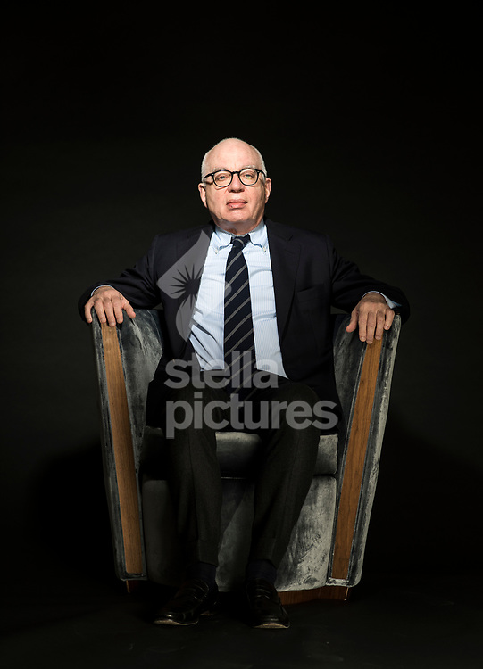 American author, essayist, journalist, and columnist, Michael Wolff.<br /> Wolff is the author of controversial study of the Donald Trump Presidency, 'Fire and Fury'<br /> Picture by Daniel Hambury/@stellapicsltd 07813022858<br /> 25/02/2018