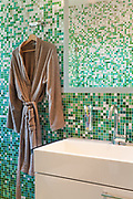 Architecture, nice apartment, detail bathroom