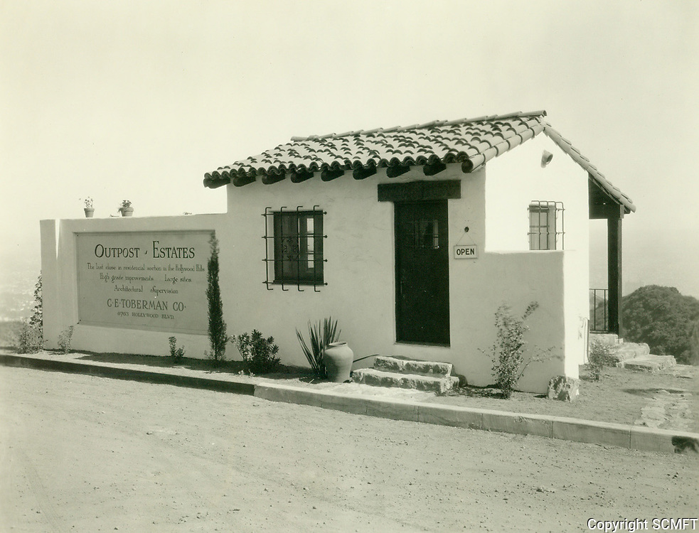 1926 Upper sales office in the Outpost Estates