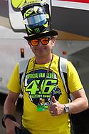 Rossi fan during the HJC Helmets Motorrad Grand Prix Deutschland at Hohenstein-Ernstthal, Chemnitz, Saxony, Germany on 6 July 2019.