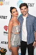 Ashley Laconetti and Jared Haibon at the Wango Tango by AT&T at Banc of California Stadium 06/03/18