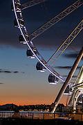 Seattle's Great Wheel ride is a popular waterfront destination. (Dean Rutz / The Seattle Times)