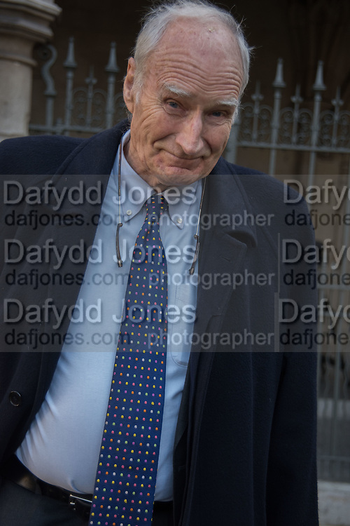 PETER SNOW, Service of Thanksgiving for the life of Edward Baron Montagu of Beaulieu. St. Margaret's Westminster. London. 20 January 2016