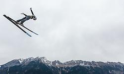 02.01.2016, Bergisel Schanze, Innsbruck, AUT, FIS Weltcup Ski Sprung, Vierschanzentournee, Training, im Bild Clemens Aigner (AUT) // Clemens Aigner of Austria during his Practice Jump for the Four Hills Tournament of FIS Ski Jumping World Cup at the Bergisel Schanze, Innsbruck, Austria on 2016/01/02. EXPA Pictures © 2016, PhotoCredit: EXPA/ JFK