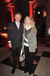 RICHARD & BASIA BRIGGS at a private view to celebrate the opening of the V&A's exhibition of Yohji Yamamoto fashion designs held on 10th March 2011.
