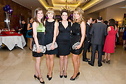 Claire O'Brien, Oranmore, Melissa O'Brien, Salthill, Eimear Seioghe, Cork and Jennifer Scott, Taylor's Hill,  at the Take Me Out for Cancer Care West in the Sathill Hotel, Galway . Photo:Andrew Downes.