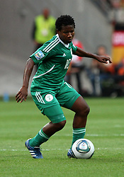 30.06.2011, Commerzbank Arena, Frankfurt, GER, FIFA Women Worldcup 2011, Gruppe A, Deutschland (GER) vs. Nigeria (NGA), im Bild .Rita Chikwelu (NGA) .// during the FIFA Women Worldcup 2011, Pool A, Germany vs Nigeria on 2011/06/30, Commerzbank Arena, Frankfurt, Germany.  EXPA Pictures © 2011, PhotoCredit: EXPA/ nph/  Karina Hessland       ****** out of GER / CRO  / BEL ******