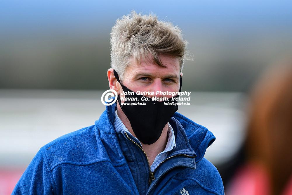Trainer: Jack W. Davison  at Navan races.<br /> <br /> Photo: GERRY SHANAHAN-WWW.QUIRKE.IE<br /> <br /> 27-03-2021