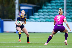 Vicky Laflin of Worcester Warriors Women looks for space to attack - Mandatory by-line: Nick Browning/JMP - 14/11/2020 - RUGBY - Sixways Stadium - Worcester, England - Worcester Warriors Women v Loughborough Lightning - Allianz Premier 15s