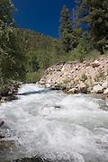 Vertical of Rio Hondo in Taos County