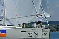 Bowman Francois Verdier, in action. Photo: Chris Davies/WMRT