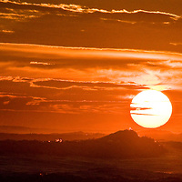 Sunset in Dominical, Costa Rica.  May 2009. .  (Photo/William Byrne Drumm)
