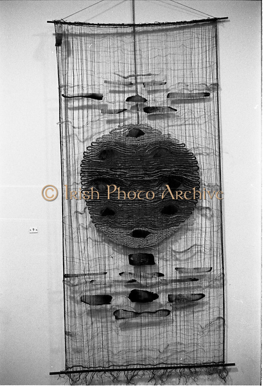 07/01/1969.01/07/1969.07 January 1969.Contemporary Hangings Exhibition at the Municiapal Art Gallery, Dublin.  Wallhanging 11 by Tadek Beutlich.