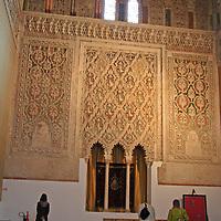 Europe, Spain, Toledo. Synagogue of El Transito.