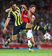 Arsenal v Fenerbahçe S.K. 270813