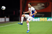 Luka Milivojevic (4) of Crystal Palace during the EFL Cup match between Bournemouth and Crystal Palace at the Vitality Stadium, Bournemouth, England on 15 September 2020.
