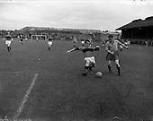1957 - Soccer: Drumcondra v Bohemians at Dalymount Park