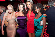 CLARE CONNEL; CHARLOTTE CAMPBELL;  SOPHIE GRADON, NATASHA NCUBE, Miss Great Britain - anniversary event. The Red Room, Les Ambassadeurs Club, 5 HAMILTON Place, London W1 18 August 2010. -DO NOT ARCHIVE-© Copyright Photograph by Dafydd Jones. 248 Clapham Rd. London SW9 0PZ. Tel 0207 820 0771. www.dafjones.com.