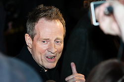 © Licensed to London News Pictures. 12/10/2012. London, UK.  Led Zeppelin bassist John Paul Jones at the cinema premiere of Celebration Day, the recording of their 2007 live show held at the O2 Arena, screened at the Hammersmith Apollo.  Photo credit : Richard Isaac/LNP