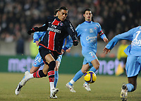 Fotball<br /> Frankrike<br /> Foto: DPPI/Digitalsport<br /> NORWAY ONLY<br /> <br /> FOOTBALL - FRENCH CHAMPIONSHIP 2008/2009 - L1 - PARIS SG v SM CAEN - 31/01/2009 - GUILLAUME HOARAU (PSG)