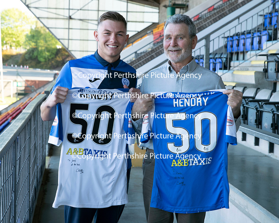 St Johnstone Players Sponsors Night…10.05.18<br />Callum Hendry<br />Picture by Graeme Hart.<br />Copyright Perthshire Picture Agency<br />Tel: 01738 623350  Mobile: 07990 594431
