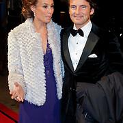 NLD/Amsterdam/20111121 - Premiere Nova Zembla 3D, Prins Maurits en partner prinses Marilene
