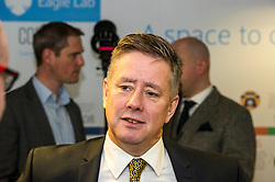 Pictured: Keith Brown<br /> Today Keith Brown MSP opened Scotland's first Barclays Eagle lab in partnership with CodeBase. The resource allows businesses and communities to access new technologies and boost digital skills while supporting job creation in the local economy. <br /> <br /> Ger Harley   EEm 16 January 2018
