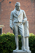 William Wilberforce statue, Wilberforce house museum, Hull, Yorkshire, England