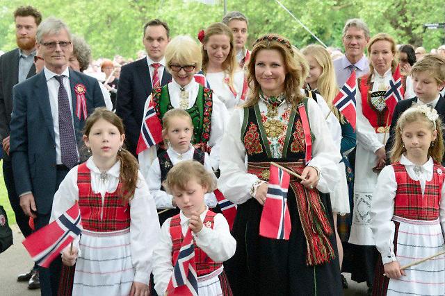 Norwegian Royal Family Celebrates National Day Princess Märtha Louise Photo by See Li 17 May 2014 Royal Hats | https://royalhats.wordpress.com/tag/princess-martha-louise/page/2/