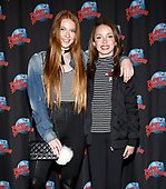 Larsen Thompson and Taylor Hatala Visit Planet Hollywood Times Square