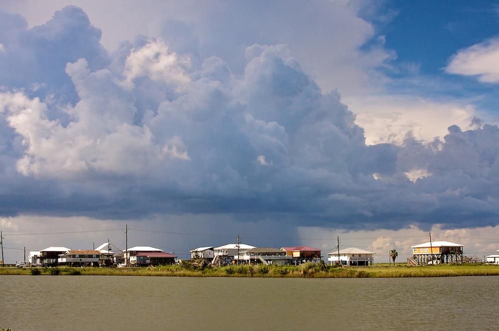 Camps and Clouds, Grand Isle, LA 8/09